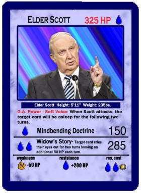 Elder Scott Trading Card