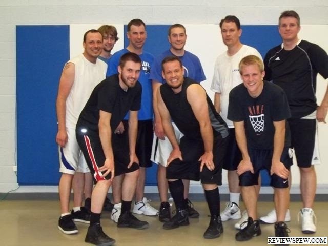These men may not be eligible to take the sacrament after basketball broke out during church brawl.