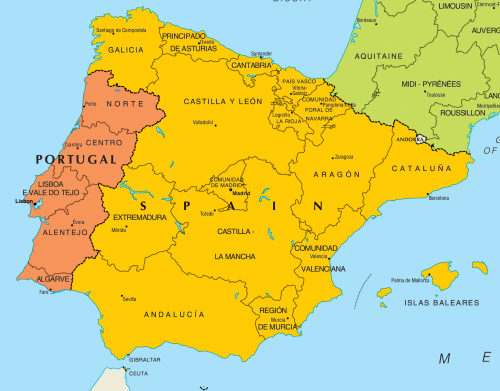 Portugal Map Geography Of Portugal Map Of Portugal World Atlas - Where is portugal in the world