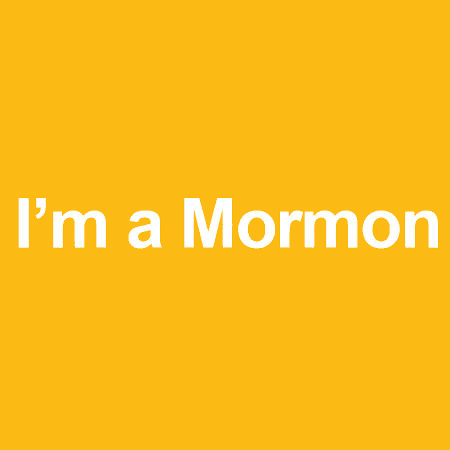 I'm a Mormon - Yellow
