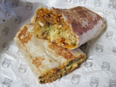 XXL Grilled Stuffed Burrito